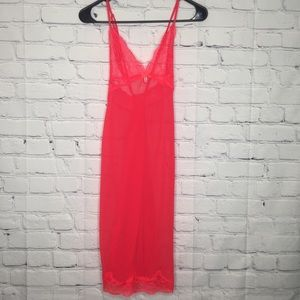 Victoria's Secret red sheer and lace babydoll